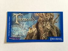 Lord Of The Rings - Bassett / Barratt Trading Cards - Treebeard - Cigarette Card