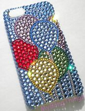 BALLOONS Crystal Rhinestone Bling Back Case for iPhone 5 5S w/Swarovski Elements