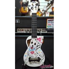 Mahalo Art Series Dalmatian Dog Soprano Ukulele with Bag and Aquila Strings