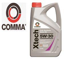 2L Comma Xtech Totalmente Sintético Aceite de Motor 5w-30 Xtc2l