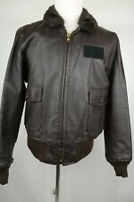 DSCP Excelled Type G-1 Flyers Leather Bomber Jacket Size 46 XL Made in the USA