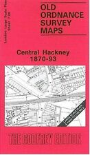 MAP OF CENTRAL HACKNEY 1870-1893