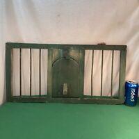 Vtg Antique Primitive Wood Chicken Coop Crate Door Country Farm Wall Decor Frame