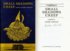 Grand Master Andre Norton SIGNED AUTOGRAPHED Small Shadows Creep HC 1st Ed/1st