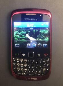 BlackBerry Curve 9330 - Spectraflame Red (Verizon Wireless) Smartphone