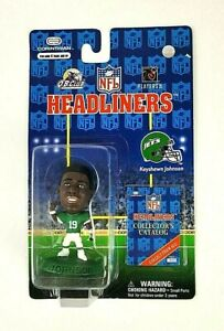 1997 NFL Corinthian Headliners Keyshawn Johnson New York Jets Figure