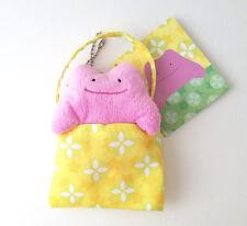 "Japanese Pokemon Center 4"" Ditto plush peeking pouch key chain"