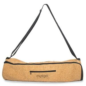 Natural Cork Eco-Friendly Carry Bag for Yoga Mat with Carry Handle Straps