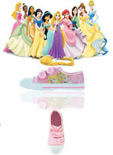 Disney Canvas Casual Trainers Medium Width Shoes for Girls