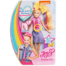 """JoJo Siwa Singing Doll Dance Moms 10"""" Share Bow Plays Song Boomerang"""