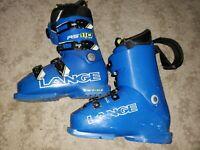 Lange RS110 Ski Downhill Alpine Boots Size 24 24.5