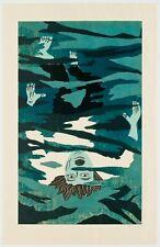 Richard Bosman : Drowning Man, 1981. Signed, Numbered, Fine Art Print