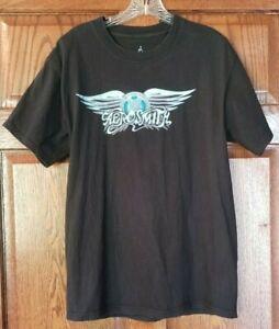 Walt Disney World Aerosmith Rock 'N Roller Coaster Men's Black Medium T Shirt