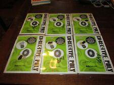 Lot Of 6 Eaton Allen Ko Rec Type Poly Typewriter Correction Paper Tabs New Nos