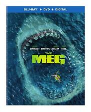 The Meg (Blu-ray Disc ONLY, 2018) - no DVD or Digital Code