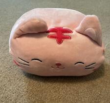 "Kellytoy Squishmallow 8"" Paulita The Punk Tabby Cat Plush Doll Stackable"