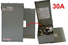 Spa & hot tub Eaton load center panel + 30A GFCI breaker double poles 120/240V