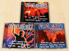 6 CD SAMMLUNG - FETENHITS - THE REAL CLASSICS - 1 2 3 - U2 QUEEN GUNS N ROSES