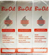Bio Oil 6.7 oz 3 Pack for Skin Scars Stretch Marks 200 ml X 3