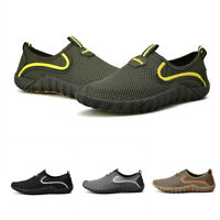 Mens Pumps Slip On Walking Hollow Out Loafers Outdoor Leisure Shoes Summer New