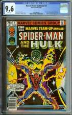 MARVEL TEAM-UP ANNUAL #2 CGC 9.6 WHITE PAGES // HULK APPEARANCE 1979