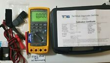 USED FLUKE 789 PROCESS METER WITH CALIBRATION CERTIFICATION AND MORE! 239616