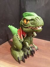 """Mattel Screature Interactive Dinosaur Snaps,Growls and spits water. 9"""""""