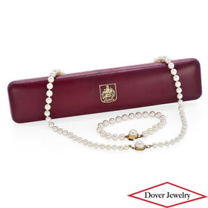 MAJORICA Pearl Sterling Silver Elegant Necklace & Bracelet Set 49.2 Grams NR