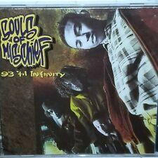SOULS OF MISCHIEF SEALED 93 TIL INFINITYV1993 CD ZOMBA RECORDS RAP HIEROGLYPHICS