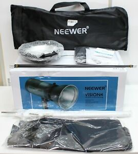 Neewer Vision 4 Outdoor Studio Flash Strobe Kit w/ White Umbrella & Softbox