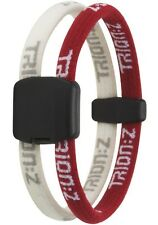 Trion Z Dual Magnetic Bracelet Red White Size Small NEW!