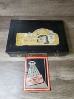RARE 1935 A.C. Gilbert Magic Electric Eye All Original Metal Case