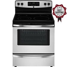 Kenmore 5.3 cu ft Electric Freestanding Stove Self Cleaning Stainless Steel Oven