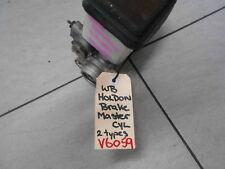 BRAKE MASTER CYL To Suit HOLDEN HZ - WB 6CYL or V8 S/N V6059 BM3029