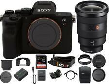 Sony Alpha a7R IV Mirrorless Digital Camera+16-35mm GM Lens+128GB Memory Card