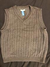 Alwero Woolmark  Boys Medium 100/% Pure Wool Pile  V-Neck Sleeveless Vest Choose1