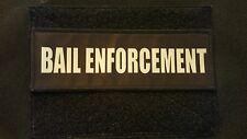 2x6 Bail Enforcement Bondsman Chest Rig Plate Carrier Body Armor Morale Patch