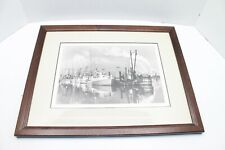 Framed Print Eureka Harbor 8 X 10 Signed Art Print WM Meyer Photography Nice