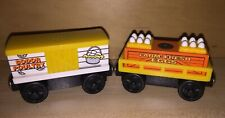 Thomas and Friends Train Wooden Railway Chicken Car Farm Eggs With Sound Lot