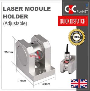 Laser module Mounting bracket Clamp holder for 12mm laser pointer Line Cross dot