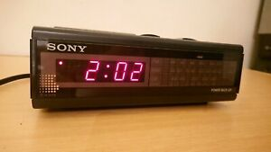 Vintage Sony Digimatic Alarm Clock Radio Buzzer