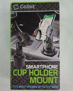 [Upgraded] Celle Phone Holder Car Cup Mount,Cup Holder Phone Holder for Car,Univ