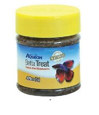 AQUEON BETTA BLOODWORM TREATS FOOD 0.175 OZ FREE SHIPPING TO THE USA