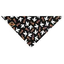 Top Performance Halloween Bandana Dog Scarf Neck Boo Ghost Square One Size 21""