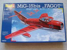 """REVELL 04573 mig-15bis """"Fagot"""" 1:48 spedizione combinata possibile"""