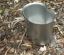 Campo Bottiglie Tazza Canteen Cup Tazza Campeggio Pentole in Acciaio Inox bicchiere Stoviglie