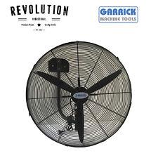 Garrick 750mm 3 Blade Industrial Wall Mounted Fan 280 Watt - FB-75