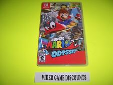 Original Box Case Replacement Nintendo Switch Super Mario Odyssey
