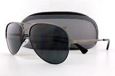 Brand New EMPORIO ARMANI Sunglasses 2032 3126/87 Matte Gunmetel/Gray  Men