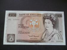 1980 SOMERSET £10 NOTE LAST SERIES EXTREMELY FINE CONDITION DUGGLEBY REF:B347.